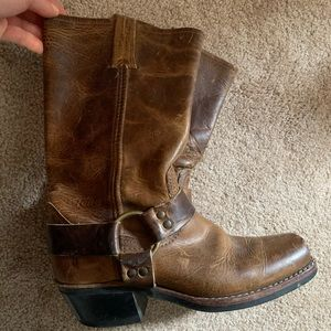 Brown Frye Boots (Engineer)